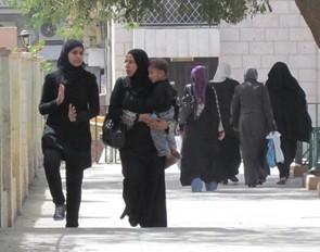 Femmes en Jordanie, 2018.