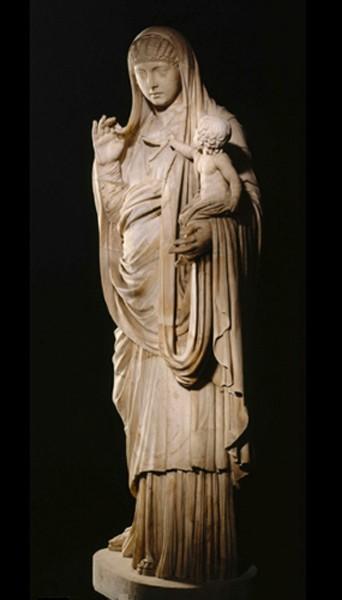 L'Impératrice Messaline, 45 ap. J.-C., Musée du Louvre, Paris.