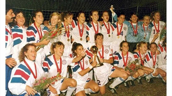 En 1991, en Chine, les Américaines remportent la première Coupe du monde.