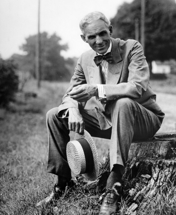 Henry Ford âgé (30 juillet 1863, Dearborn, Michigan ; 7 avril 1947, Dearborn)