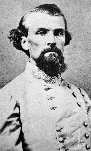 Nathan Bedford Forrest (13 juillet 1821, Bedford, Tennessee ; 29 octobre 1877, Memphis, Tennessee)