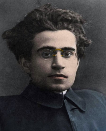 Portrait d'Antonio Gramsci (1891-1937). Photo Bianchetti.
