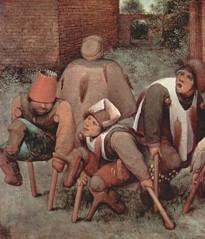 Les mendiants, Pieter Breughel l'Ancien Paris, musée du Louvre.