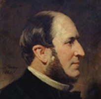 Portrait du baron Haussmann, Frédéric Adolphe Yvon, 1867.
