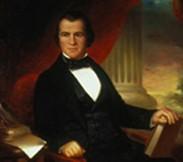Andrew Johnson, portrait attribué à William Brown Cooper, 1856.
