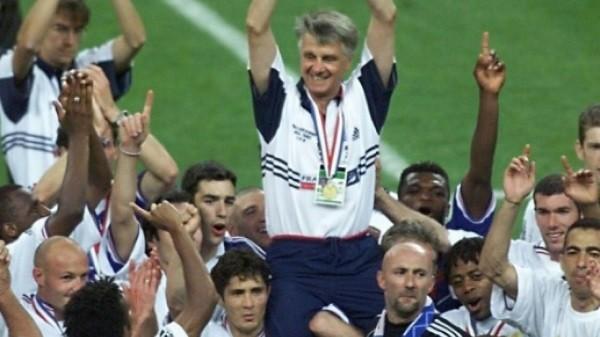 Dans l'émotion de la victoire (12 juillet 1998), DR