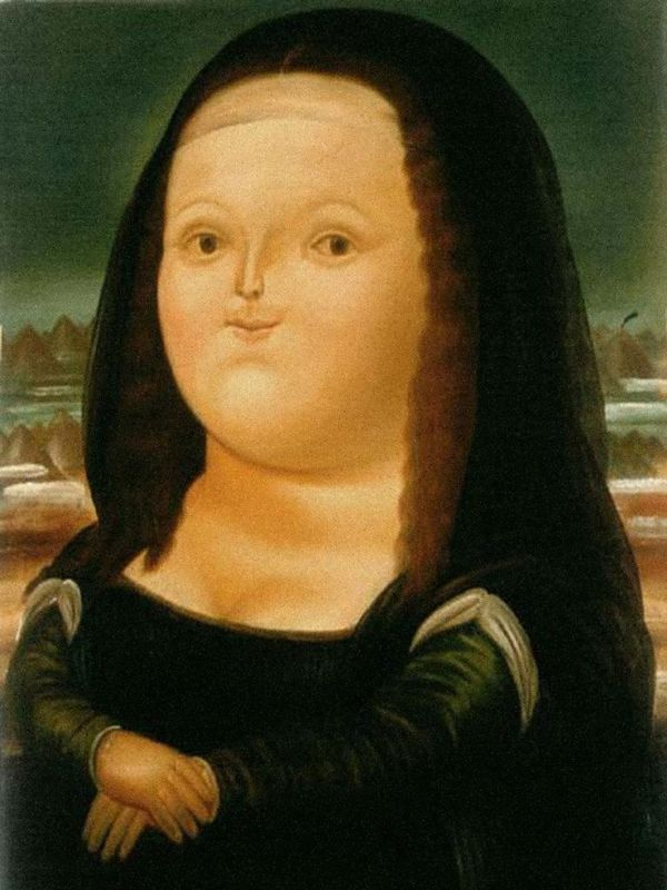 Fernando Botero, Mona Lisa, Age Twelve, 1959, MoMA, New York