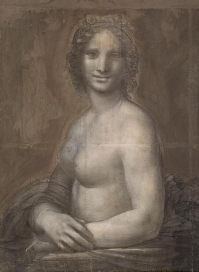 La Joconde nue (XVIe siècle, musée Condé, Chantilly)