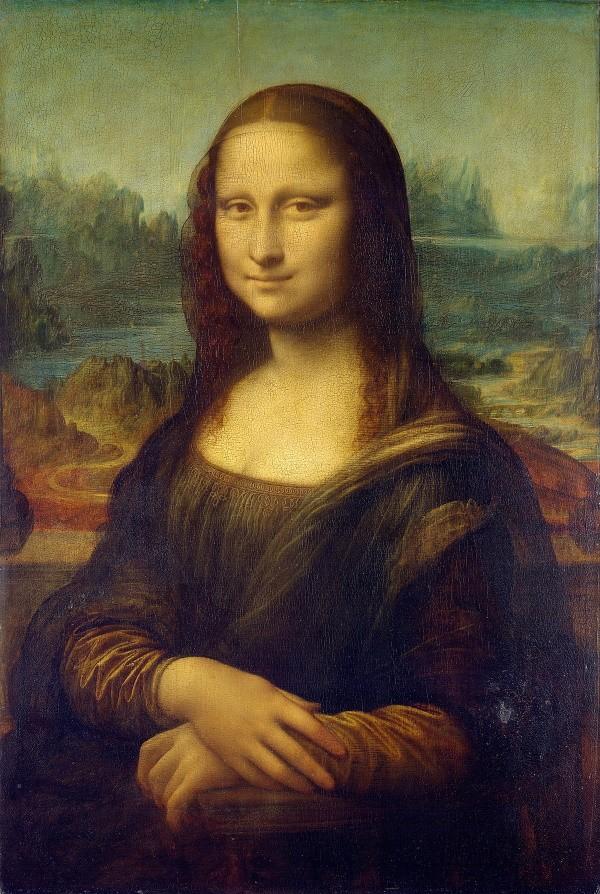 La Joconde (Léonard de Vinci, Louvre)
