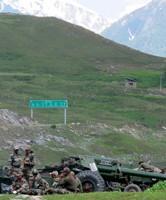 Soldats de l'armée indienne se rendant au Ladakh en juin 2020, Reuters.