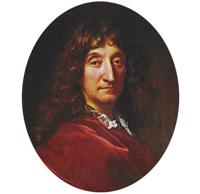 Jean de La Fontaine par François de Troy, XVIIe siècle, bibliothèque publique et universitaire de Genève.