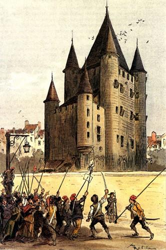 La famille royale au Temple - Le remords de la révolution 1792 - 1795 -  Herodote.net