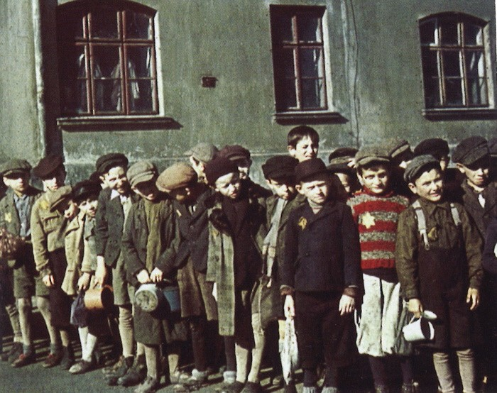 Enfants du ghetto de Lodz