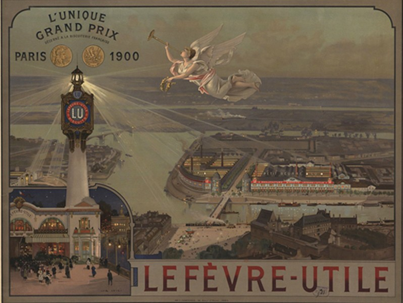 Grand Prix LU à l'Exposition universelle de Paris en 1900.