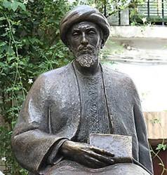 Statue de moïse Maïmonide à Cordoue.