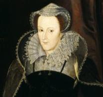 Marie Stuart d'aprés Nicolas Hilliard.