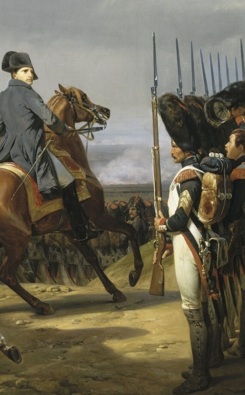 Napoléon à Iéna, 14 octobre 1806 (1810, Horace Vernet, château de Versailles)