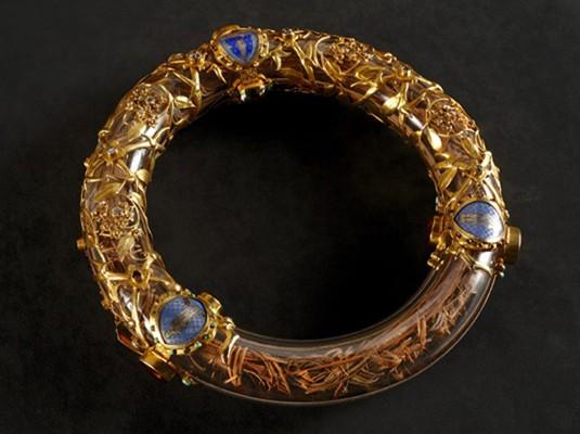 Le reliquaire de la couronne d'épines, conservé à Notre-Dame de Paris