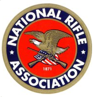 Logo de la National Rifle Association (NRA), créée en 1871