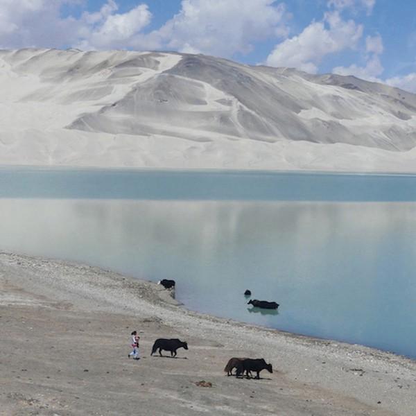 Aux environs du lac Karakul.