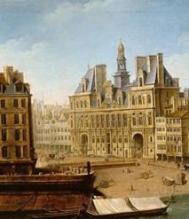 Jean-Baptiste Nicolas Raguenet, L'Hôtel de Ville, 1751.