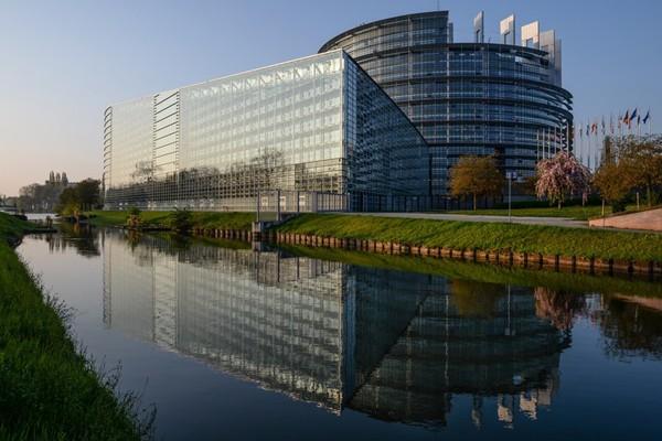 Les bâtiments du Parlement européen à Strasbourg, AFP, DR.