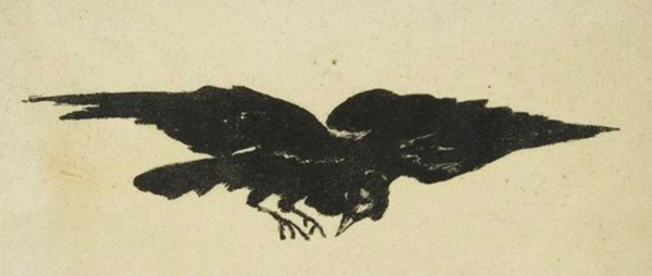 Le Corbeau. The Raven. Traduction française de Stéphane Mallarmé avec illustrations par Édouard Manet. Paris, Richard Lesclide, 1875.