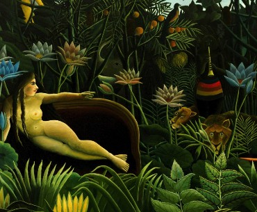 Henri Rousseau, Le Rêve, 1910, New York, Museum of Modern Art