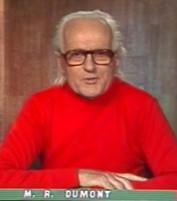 René Dumont, campagne présidentielle, 1974.