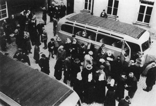 Déplacement de malade entre 1940 et 1942 DR