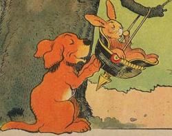 Flambeau, chien de guerre, 1916, Benjamin Rabier.