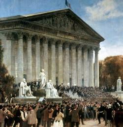 Proclamation de la République