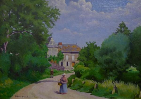 Paterne Berrichon, La ferme de Roche (Ardennes), s.d. En agrandissement, la maison Rimbaud, Jean-Jacques Lefrère/Flammarion.