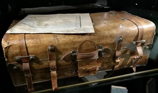Valise d'Arthur Rimbaud, s. d., Charleville-Mézières, musée Arthur Rimbaud.
