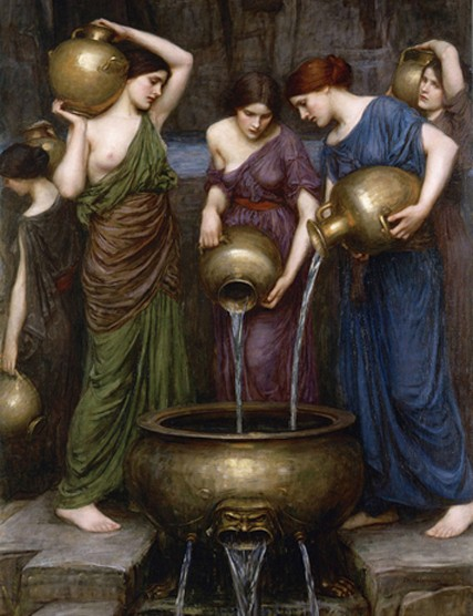 John William Waterhouse, Les Danaïdes, collection privée, 1903.