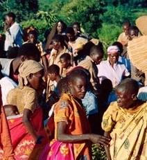 Hutus du Rwanda sur le chemin de l'exil (1994)