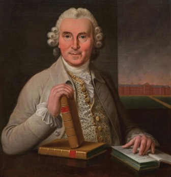 Portrait de James Lind par Sir George Chalmers peint en 1783.