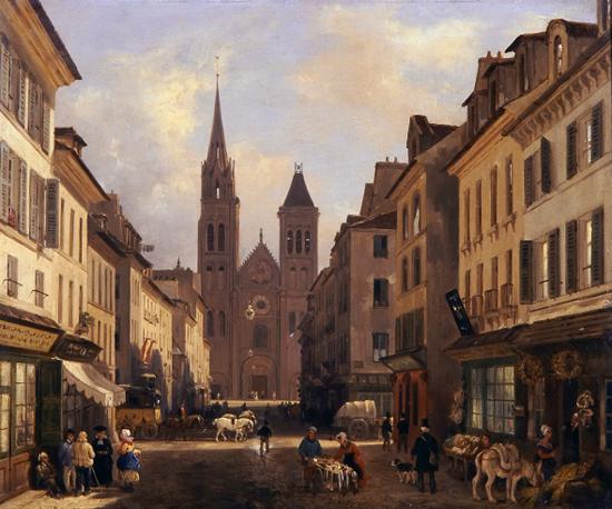 Saint-Denis, Guiseppe Canella L'Aîné,1831.