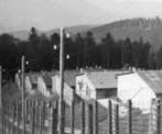 Les baraquements du camp principal KL Natzweiler-Struthof au moment de leur découverte (CERD)