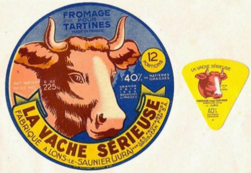 « La vache sérieuse » à été produit par la société Grosjean de 1926 à 1955. DR