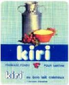En 1966, le Kiri voit le jour inspiré de la recette de La recette de « La vache qui rit » DR