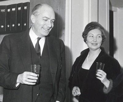 Robert Fievet (1908-2002) et son épouse Andrée Bel (1910-?). DR