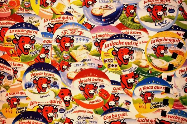 La vache qui rit est commercialisée dans 136 pays. Ouest France, DR