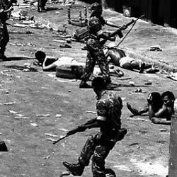 Émeutes et répression par l'armée en février 1988 à Caracas (Caracazo).