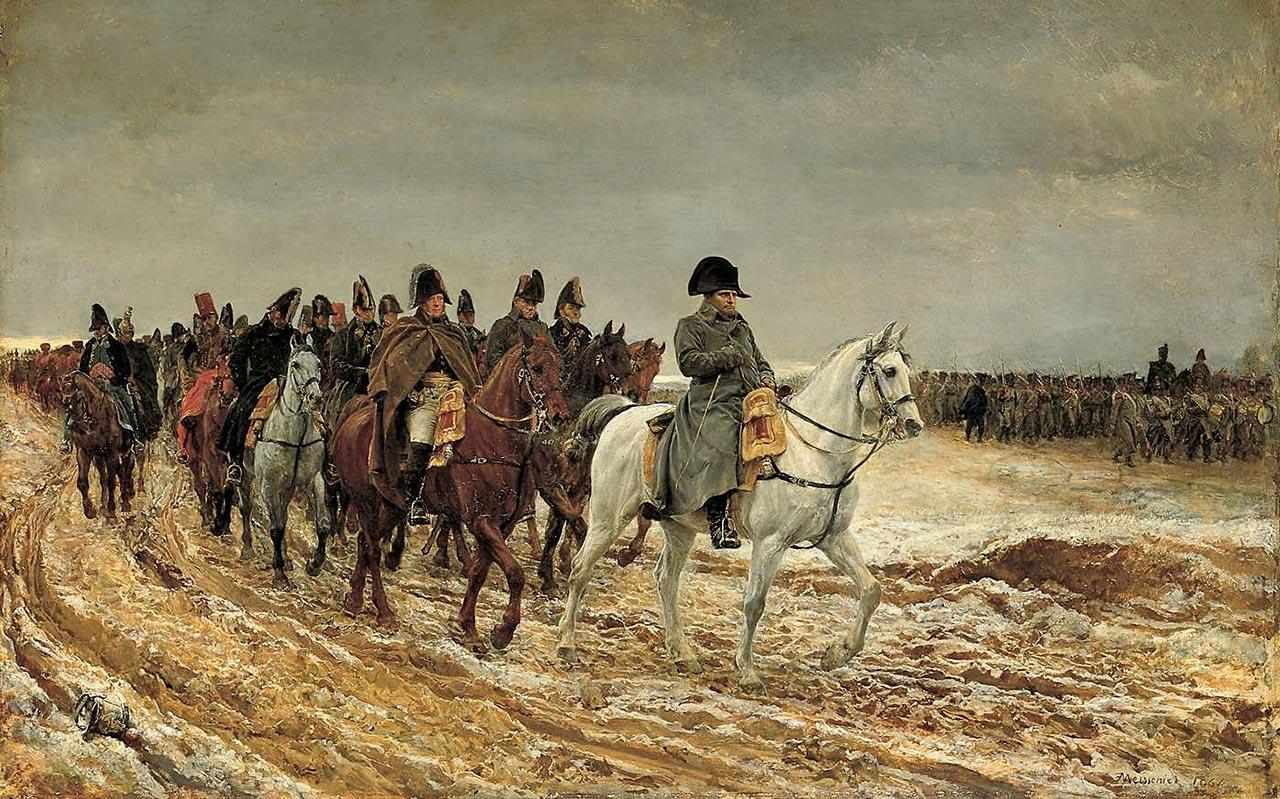 Campagne de France, 1814, par Meissonier