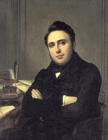 Alexandre Auguste Ledru, dit Ledru-Rollin, Madame Mongez, 1838, Paris, musée Carnavalet.