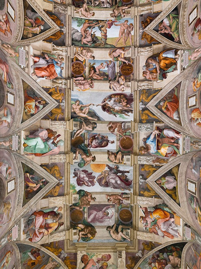 Populaire 31 octobre 1512 - Inauguration de la chapelle Sixtine - Herodote.net AV67