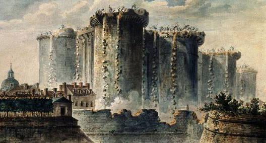 Démolition de la Bastille (musée Carnavalet, Paris)
