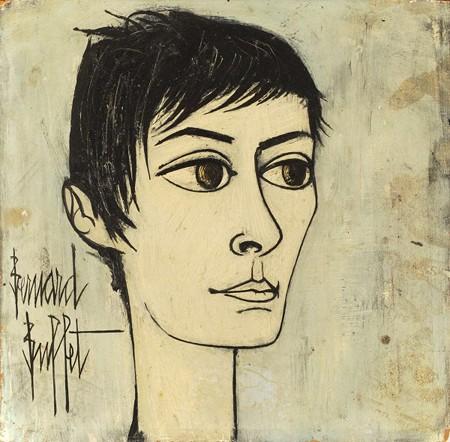 « Portrait d'Annabel », Bernard Buffet, 1958-1959, DR.