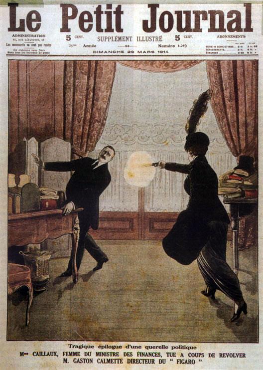 16 mars 1914 - Mme Caillaux tire sur Gaston Calmette - Herodote.net
